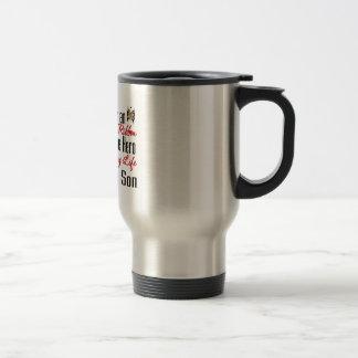 Autism Ribbon Hero in My Life My Son Coffee Mug