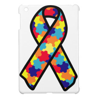 Autism Ribbon iPad Mini Cover