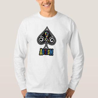 Autism Ribbon - Long Sleeve Shirt - Spades Edition