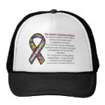 Autism Ribbon meaning Trucker Hat
