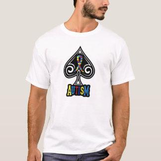 Autism Ribbon - Tshirt - Spades Edition