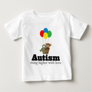 Autism Rising Higher With Love Baby T-Shirt