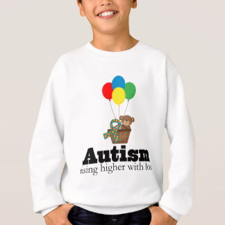 Autism Rising Higher With Love Sweatshirt