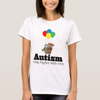 Autism Rising Higher With Love T-Shirt