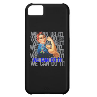 Autism Rosie WE CAN DO IT Cover For iPhone 5C