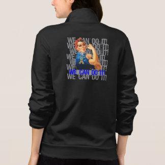 Autism Rosie WE CAN DO IT Printed Jacket