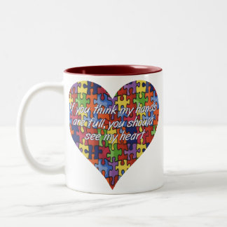 Autism See My Heart Coffee Mug