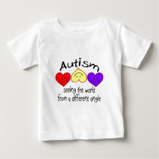 Autism, Seeing The World From A Different Angle Baby T-Shirt