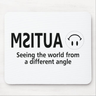 Autism Seeing The World From A Different Angle Mouse Pad