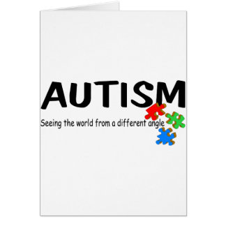 Autism Seeing The World From A Different Angle (Pi Card