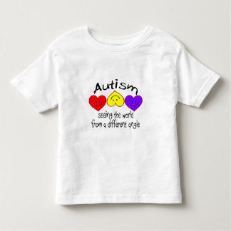 Autism, Seeing The World From A Different Angle Toddler T-shirt