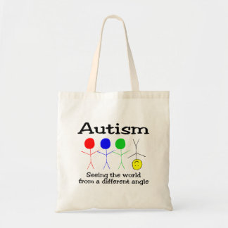 Autism Seeing The World From A Different Angle Tote Bag