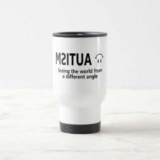 Autism Seeing The World From A Different Angle Travel Mug