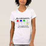 Autism Seeing The World From A Different Angle T-shirts