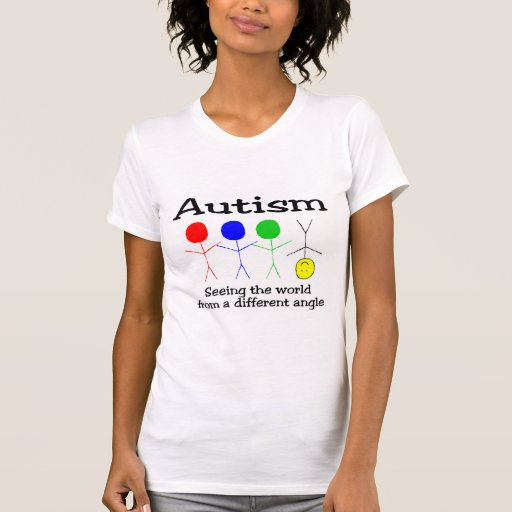 Autism Seeing The World From A Different Angle Shirts