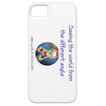 Autism Seeing the world from the different angle iPhone SE/5/5s Case