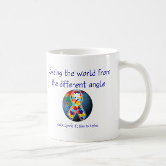 Autism Seeing the world from the different angle Coffee Mug