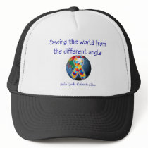 Autism Seeing the world from the different angle Trucker Hat