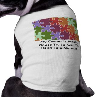 Autism Service Dog Uniform T-Shirt