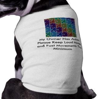 Autism Service Dog Uniform T-Shirt