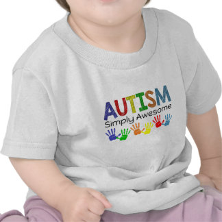 Autism Simply Awesome Autism Awareness Tshirt