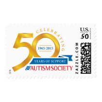Autism Society 50th Anniversary Stamp