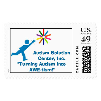 Autism Solution Center Inc Postage Stamps