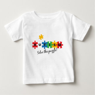 Autism - Solve the puzzle! Baby T-Shirt