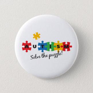 Autism - Solve the puzzle! Button