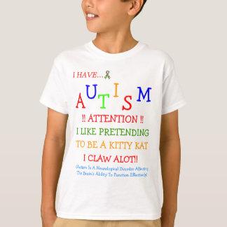 Autism Sometimes Hurts! ~ Kidz T-Shirt