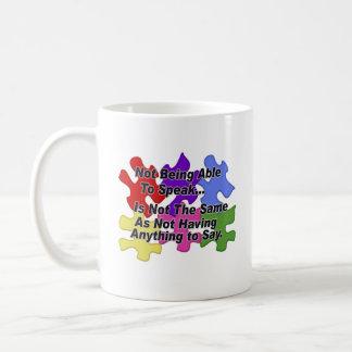 Autism Speaking Coffee Mug