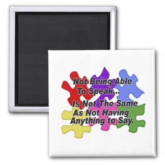 Autism Speaking Magnet