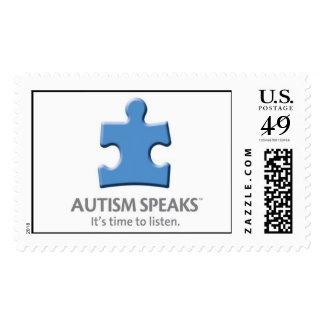 Autism Speaks - Large Stamp