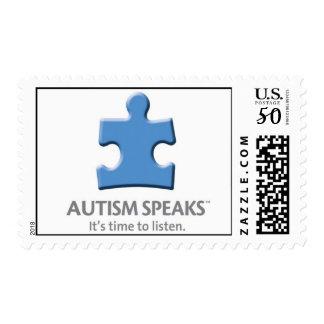 Autism Speaks - Medium Stamp