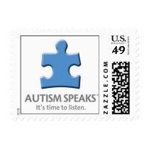 Autism Speaks - Small Stamp