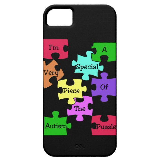Autism Special Puzzle Piece iPhone 5 Case