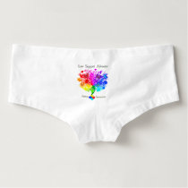 Autism Spectrum Tree Boyshorts