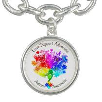 Autism Spectrum Tree Bracelet