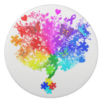 Autism Spectrum Tree Eraser