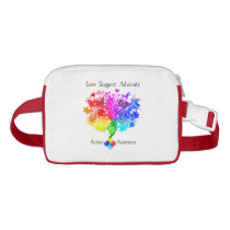 Autism Spectrum Tree Fanny Pack