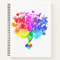 Autism Spectrum Tree Notebook