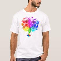 Autism Spectrum Tree T-Shirt