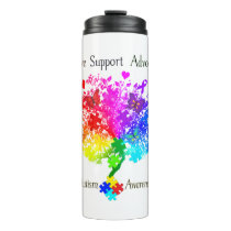 Autism Spectrum Tree Thermal Tumbler