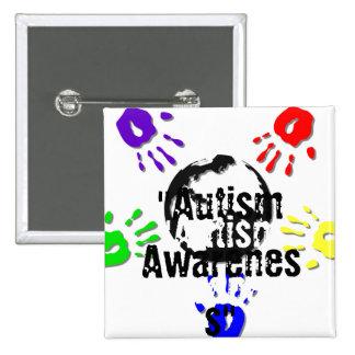 Autism Square Button