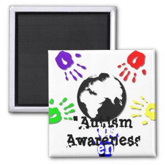 Autism Square Magnet