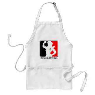 Autism Strength Fight Like A Girl Apron