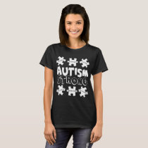 Autism Strong Awareness Support Men_s Autism T-Shirt