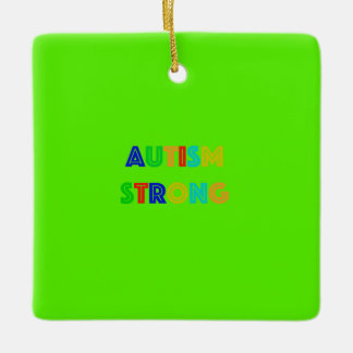 Autism Strong Ornament