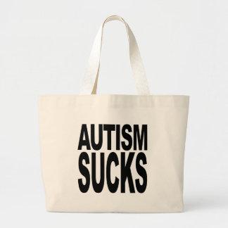 Autism Sucks Tote Bags