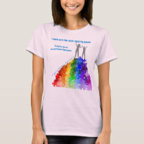 Autism Support Climbing To New Heights Woman & Boy T-Shirt